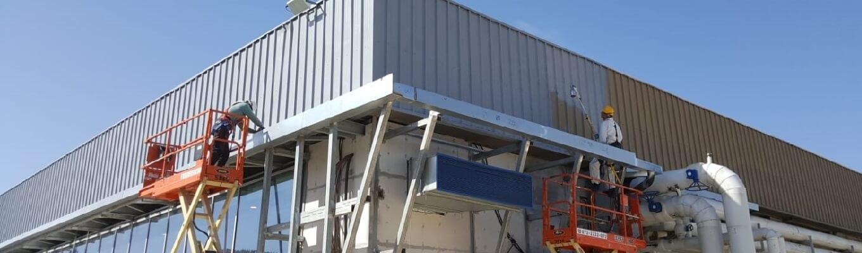ב.ס.א בסא BSE בנייה גבס שיפוץ מיזוג כללית אינטל